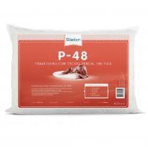 Travesseiro Com Tecido Percal 180 Fios Antialérgico 50x70cm - Nobeles