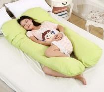 Travesseiro De Descanso Corpo Grávida Gestante com Fibra Silicone - Home fernandes