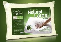 Travesseiro de Látex 200 fios - Alto - Duoflex - 100 Látex - 50 x 70 cm -