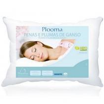 Travesseiro de Penas e Plumas de Ganso - Plooma -