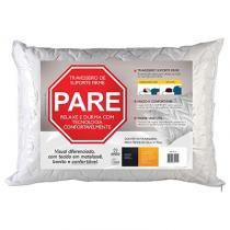Travesseiro de Suporte Firme Fibrasca Pare 50 x 70 cm - Bran -