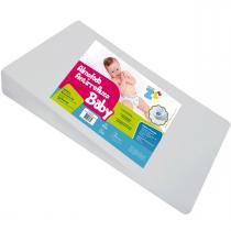 Travesseiro Fibrasca Infantil Anti Refluxo para Carrinho - 30x50x8cm -