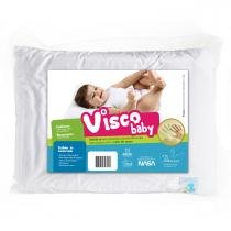 Travesseiro Fibrasca Infantil Anti Sufocante - Visco - Fibrasca