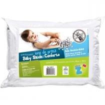 Travesseiro Fibrasca Infantil - Íons de Prata -