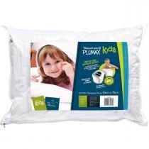 Travesseiro Fibrasca Infantil Plumax Kids - 50x70cm - Fibrasca
