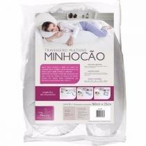Travesseiro Fibrasca Multiuso Minhocão 1.60m x 25cm com 2 Capas -