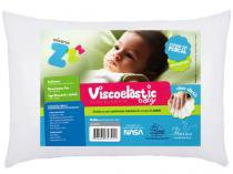 Travesseiro Infantil 30x40cm - Fibrasca Viscoelastic Baby