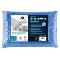 Travesseiro Latex Lavável Frostygel - Fibrasca - Fibrasca