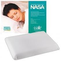 Travesseiro NASA + Fronha Microfibra - Branco - Lucas valle