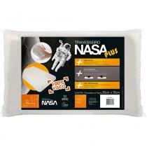 Travesseiro Nasa Plus Para Fronhas 50x70 cm - Branco - Fibrasca