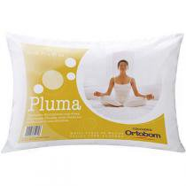 Travesseiro Ortobom Fibra Siliconada Pluma 50 x 70 -