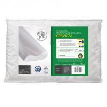 Travesseiro Ortopédico Cervical de Latéx - Fibrasca -