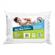 Travesseiro P/ Bebê - Baby Saúde e Conforto - Íons de Prata - 30cm x 40cm - Fibrasca - Fibrasca