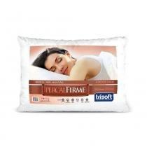 Travesseiro Percal Firme 50cm X 70cm  Trisoft -
