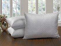 Travesseiro Piumino 50x70 Fibra Siliconizada Hedrons -