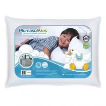 Travesseiro Pluma Fibra Siliconada Baby 233 Fios 30X40cm Plumasul -