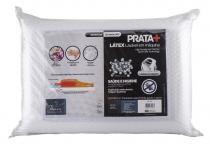 Travesseiro Prata + Toque de Látex - Fibrasca 50 x70 cm -