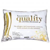 Travesseiro Quality 01 Peça - Branco - Vilela Enxovais