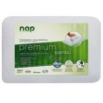 Travesseiro Viscoelástico King Antibacteriano Premium  Nap - Nap