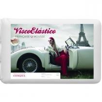 Travesseiro Viscoelástico Mousse Française 11 x 50 X 70 cm - MANUFATURA