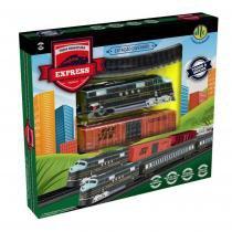 Trem miniatura modelo a track express - dtc -