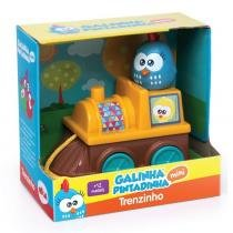 Trenzinho Galinha Pintadinha Mini - Elka -