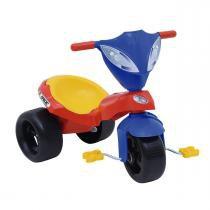 Triciclo Com Pedal Infantil Race Vermelho 7343 Xalingo - Xalingo