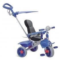 Triciclo de Passeio Smart Confort - Azul - Bandeirante -