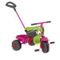 Triciclo de Passeio - Smart Plus - Rosa - Bandeirante - Bandeirante
