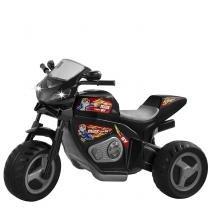 Triciclo Elétrico Infantil 6v Moto Max Turbo 1430L Magic Toys Preto -