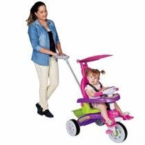 Triciclo fit trike magic toys 3339 rosa -
