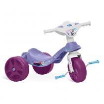 Triciclo Frozen Disney Tico Tico Roxo - Bandeirante