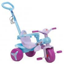Triciclo Frozen Disney Veloban Passeio Roxo - Bandeirante