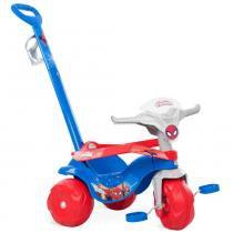 Triciclo Homem Aranha Motoban Passeio Azul - Bandeirante