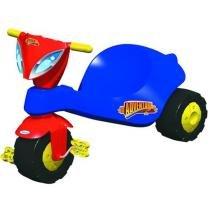 Triciclo Infantil Adventure Azul/Vermelho 07589 - Xalingo - Xalingo