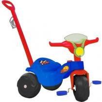 Triciclo Infantil Bandeirante Motoban Passeio - Haste Removível