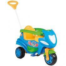 Triciclo Infantil Calesita com Empurador Max - Porta Objetos