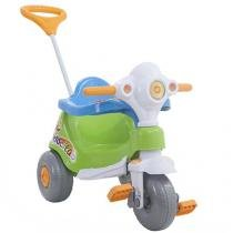 Triciclo Infantil Calesita com Empurrador Velocita Haste Removível