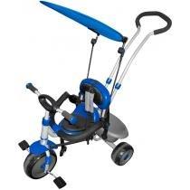 Triciclo Infantil com Capota Super Treck 9008 Azul - Belfix - Belfix