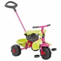 Triciclo Infantil Com Pedal Smart Plus Rosa Bandeirante -