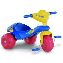 Triciclo Infantil Jet Ban Estrutura em Dupla Camada 901 - Bandeirante - Bandeirante
