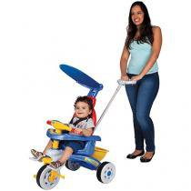 Triciclo Infantil Magic Toys Fit Trike - Haste Removível