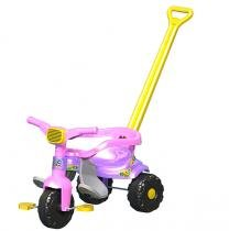 Triciclo Infantil Motoca Menina Tico Tico Rosa - Magic toys
