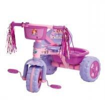 Triciclo Infantil Premium Princesa Sofia Roxo Multibrink - Multibrink
