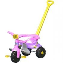 Triciclo Infantil Smart Super Festa Rosa Magic Toys - Magic Toys