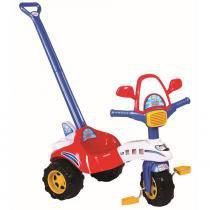 Triciclo Infantil Tico Tico Avião 2701L Magic Toys com Haste -