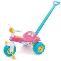 Triciclo Infantil Tico Tico Princesa 2232 Magic Toys com Haste - Magic Toys