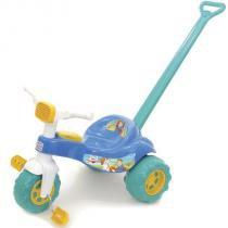 Triciclo Infantil Tico Tico Príncipe 2231 Magic Toys com Haste -