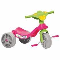 Triciclo Infantil Tico Tico Rosa Bandeirante -