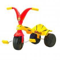 Triciclo Infantil Tigrão Amarelo/Vermelho 07621 - Xalingo - Xalingo